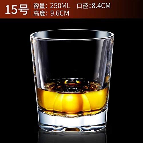 Resistente Al Calor Sin Plomo Cristal Transparente Copa De Vino Jarras De Cerveza Whisky Brandy Copa...
