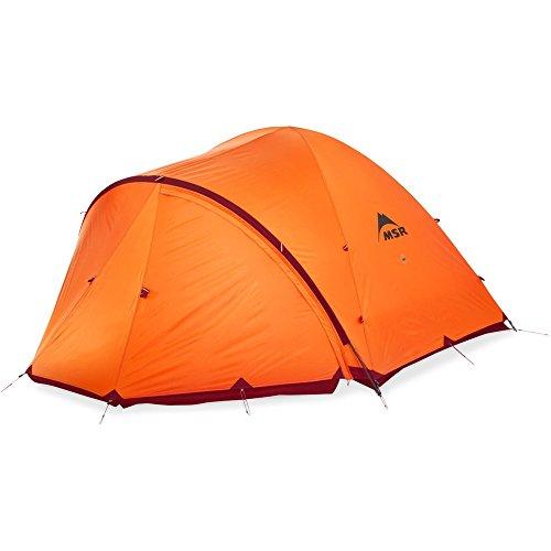 MSR Remote 2 Tent: 2-Person 4-Season Orange, One Size
