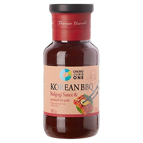 CJO Premium Korean BBQ Bulgogi Sauce & Marinade for Pork 280g