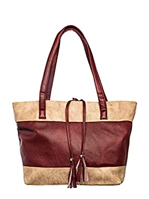 Khadim's Women Maroon Handbag - UK One Size