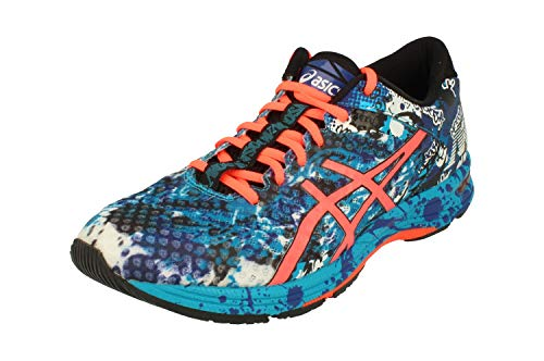 ASICS Herren Gel-Noosa Tri 11 Running Shoes, Blau (Island Blue/Flash Coral/Black 4006), 44 EU