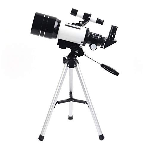 4YANG telescopio astronomico,Telescopio Bambini Adulti Telescopio Astronomico Professionale Bambini Adulti 70 mm 180X con treppiede regolabile e cannocchiale da puntamento