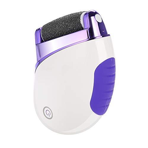 Wasbare elektrische voetverwijderaar, 360 graden roterende voetvijl met draagbare tas en vervangbare koppen voor dode huid nagelriemen verwijderen, hand-voetschrobmachine Pedicure-apparaat
