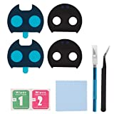 2Pack OEM Back Rear Camera Glass Lens Cover Replacement with Pre-Installed Adhesive for Motorola Moto Z2 Force XT1789-01 XT1789-03 XT1789-04 + Repair Toolkit (for Moto Z2 Force)