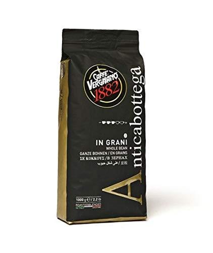 6 kg Caffè Vergnano 1882 in grani - ( 6 BUSTE DA 1 KG ) - SCEGLI LA MISCELA CHICCHI (ANTICA BOTTEGA)