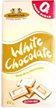 White Choc Bar No add Sugar 75g Bulk Pack of 12