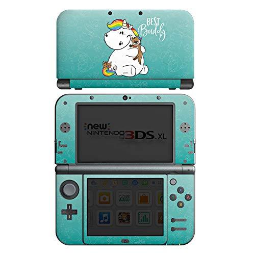 DeinDesign Skin kompatibel mit Nintendo New 3DS XL Folie Sticker Pummel & Friends Pummeleinhorn Offizielles Lizenzprodukt