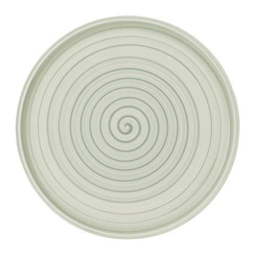 Villeroy & Boch Artesano Nature Vert Assiette à pizza, 32 cm, Porcelaine Premium, Vert