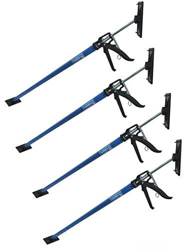 4x Profi Einhandstütze Montagestütze Deckenstütze Teleskopstütze bis 290cm