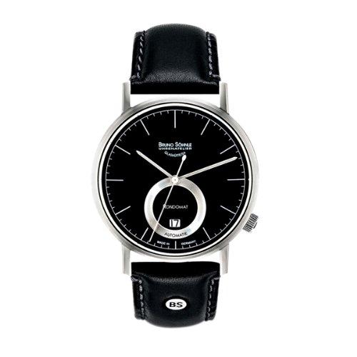 Bruno Söhnle Herren-Armbanduhr XL Rondomat II Analog Automatik Leder 17-12098-741