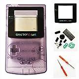 Custodia di ricambio per Nintendo Gameboy colore GBC - viola chiaro