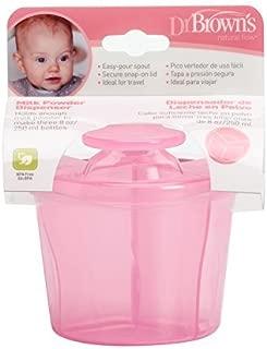 Dr Brown's Milk Powder Dispenser (Pink) by Dr. Brown's