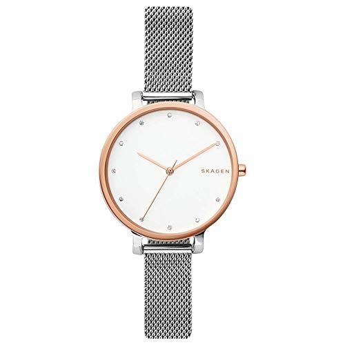 Skagen Reloj Cronógrafo para Mujer de Cuarzo con Correa en Acero Inoxidable SKW2662