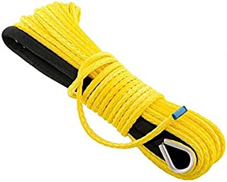 Jutemill Synthetic Winch Rope  Synthetic - 1/4