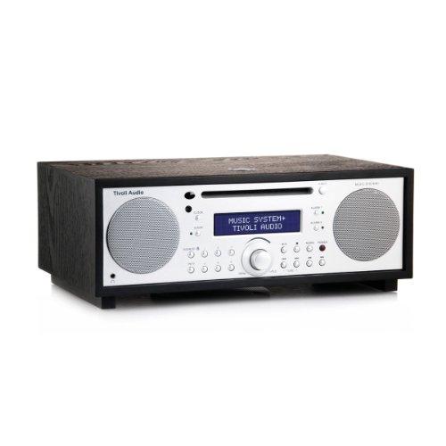 Tivoli Audio Music System+ BT (DAB+ / Bluetooth) schwarz/silber
