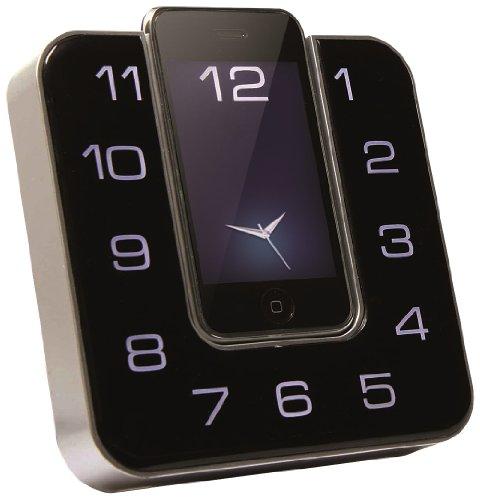 CMX LSP 8040 Radiosveglia docking station universale iPod/iPhone (2 allarmi, radio FM, design moderno)