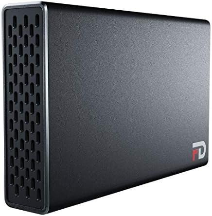 FD Duo Portable 2 Bay RAID Enclosure Only SSD 2 Bay RAID USB 3 2 Gen 2 Type C 10Gbps RAID0 RAID1 product image