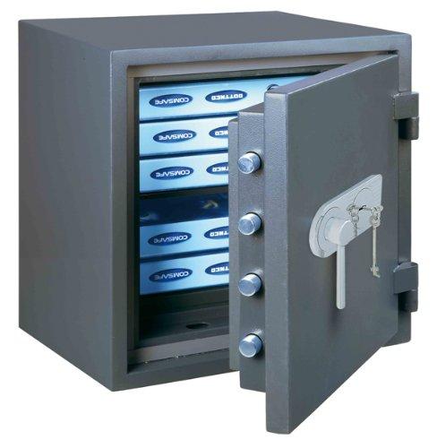 Rottner Fire Profi 50Premium High Sicherheit doppelwandig Schlüssel Safe Lock (Alte Version)