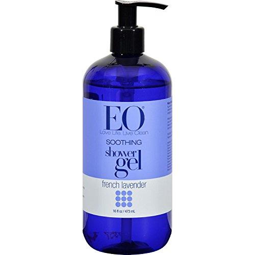 EO Shower Gel, French Lavender, 16 oz