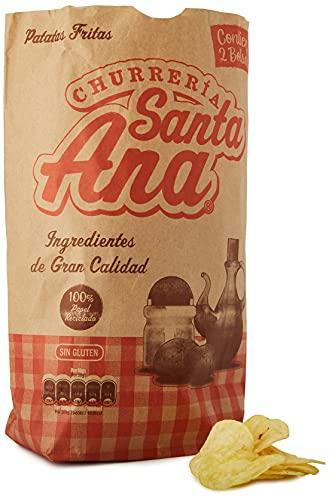 Churrería Santa Ana Patatas Fritas con Sal, 270g