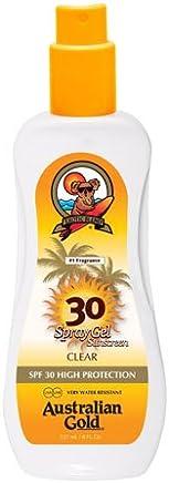 Australian Gold SPF 30 Plus Alta Protezione Water Resistant Spray Gel 237ml