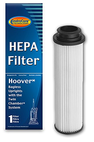 EnviroCare Replacement HEPA Filter for Hoover Windtunnel Empower & Savvy Bagles Uprights