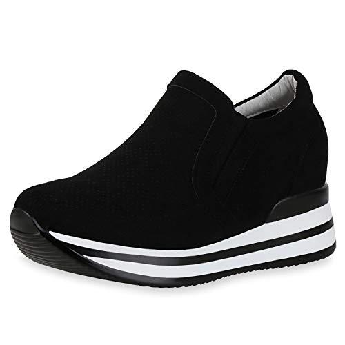 SCARPE VITA Dames Sneaker Wedges Pruik Schoenen