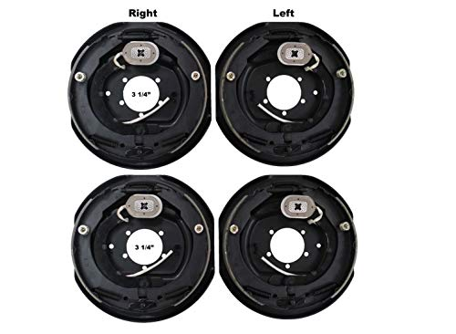 """2 Sets 12x2 Electric Trailer Brake Assembly for 7000 lb Axle Trailers 12""""x2"""""""