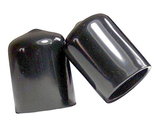 "Plastic tips 12   7//16/"" Square Push-On Vinyl Caps End Caps 1/"" Height"