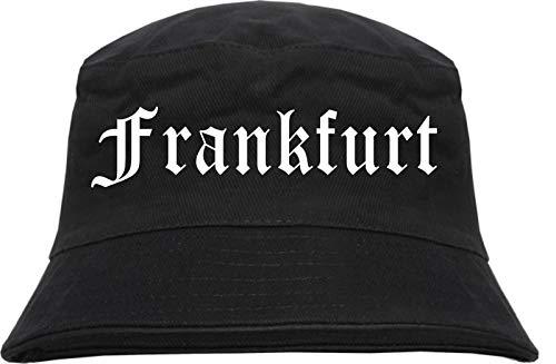 HB_Druck Frankfurt Fischerhut - Bucket Hat L/XL Schwarz