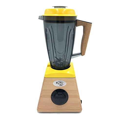 KoMo KoMoMix+ Hochleistungsmixer gelb (1.400 Watt, 30.000 Umdrehungen/Min., fair & nachhaltig hergestellt)