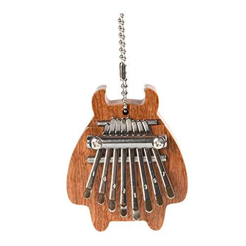 F Fityle 8 Teclas Pulgar Piano Dedo Percusión Kalimba Instrumentos Musicales Colgante