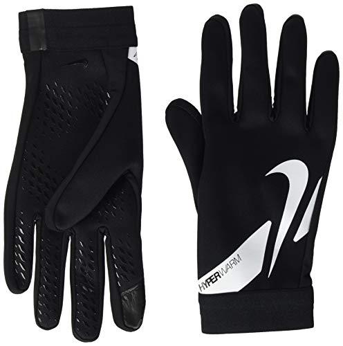 Nike Academy HPRWRM HO20 CU1589 - Guantes para Hombre, Talla L, Color Negro, Blanco y Negro