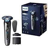Philips Series 7000 S7788/55 Electric Wet and Dry Razor, close shave, advanced skin protection with SteelPrecision Cutting System, SkinIQ technology, flexible 360° heads, 60 min run time