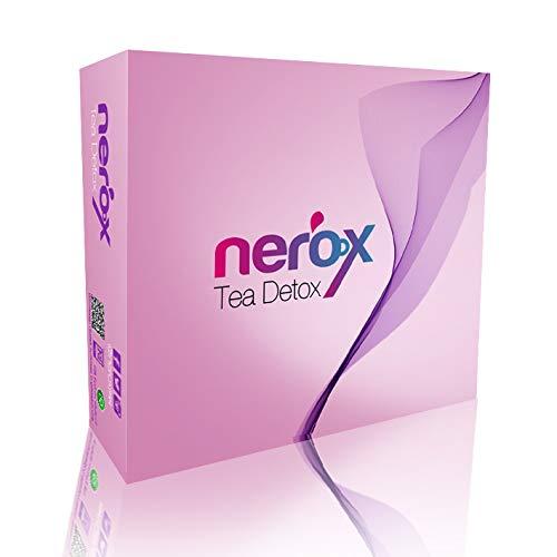 Nerox Detox Tee Diät Tee für Körperreinigung Gewichtsverlust Tee Natürliche Inhaltsstoffe Nerox Tee Teadotox Extreme Fatburner Detox