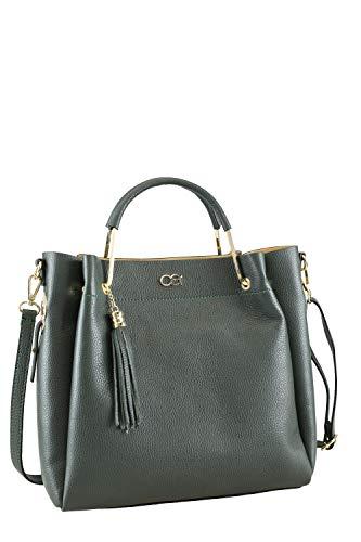 collezione alessandro Handtasche Ronia aus italienischem Leder 32cm x 30cm x 14cm