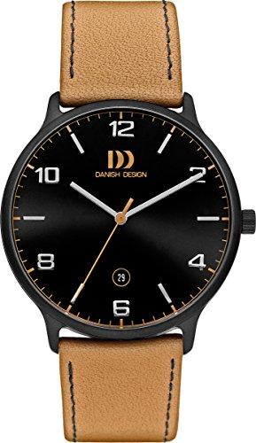 Danish Designs DZ120500 - Orologio da polso, Uomo, Pelle, colore: Arancione