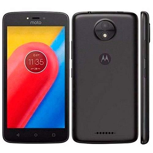 Motorola XT1750 Smartphone Moto C 3G, 5″, 8GB, Cámara 5Mp, Android 7.0 Nougat, Color Negro