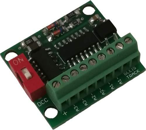 MDelectronics MD MAD (3 Kanal Weichendecoder/Schaltdecoder für Doppelspulenweichen)