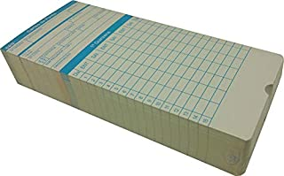 Cartão De Ponto Relógio Cartográfico - 270g/m2 MD01 c 100 UN