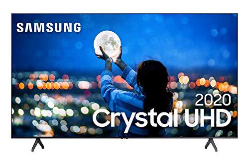 "Smart TV LED 58"" UHD 4K Samsung UN58TU7000GXZD Crystal"