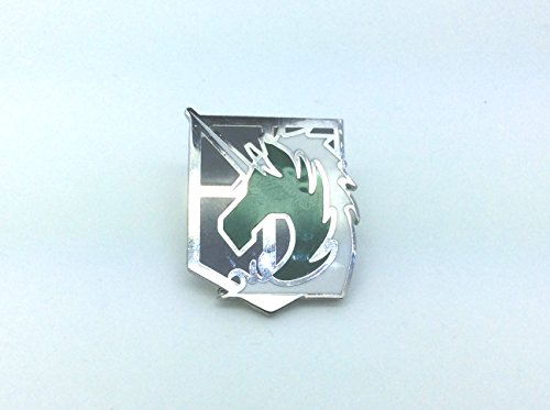 Attack on Titan Shingeki no Kyojin Opération Spéciale de Police Militaire Squad Pin Badge