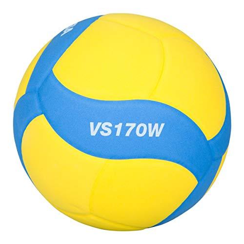 Mikasa Unisex– Erwachsene VS170W-Y-BL Volleyball, blau, 5