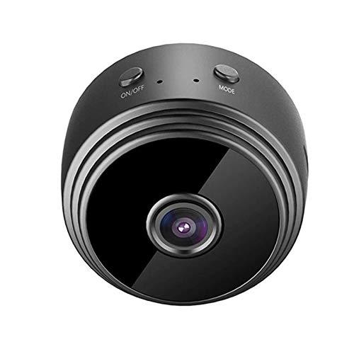SOLE HOME Spionagekamera 1080P Mini Versteckte Drahtlose WLAN-Kamera Nachtsicht-Bewegungserkennung Home Security DVR-Kamera mit App für Zuhause Indoor Outdoor