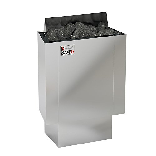 SAWO NORDEX MINI 3,6 kW Elektrische Saunaofen; wird separates Steuergerät benötig (NS-Modell); Multispannung: entweder Einphasig oder 3-Phasig;