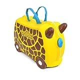 Mala Infantil Girafa Gerry, Trunki, Amarelo, 47x23x33 cm