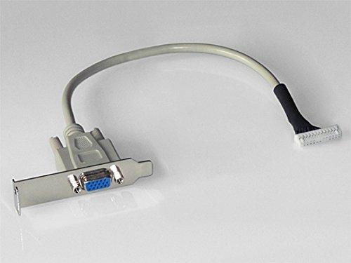 Truento VGA-Adapter Anschlusskabel für Acer Aspire easyStore H340, H341, H342