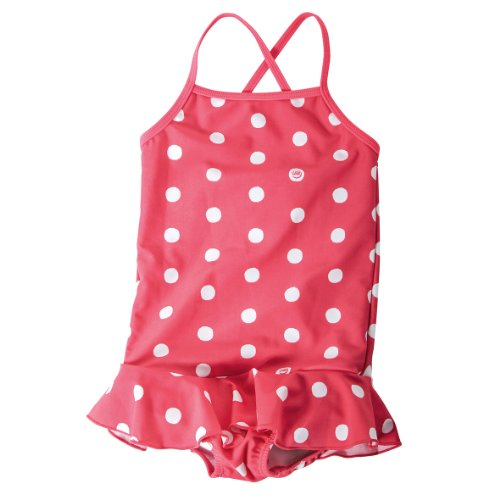 Lego Wear - Maillot de bain - Bb Fille - Rose (315 Dark Pink) - FR : 3 ans (Taille fabricant : 98)