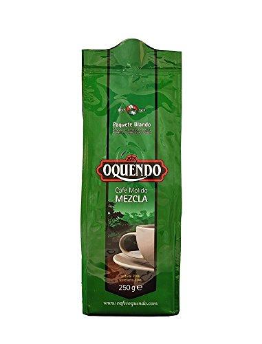 Oquendo Mezcla Café Molido - Gemahlene Kaffeemischung, 1er Pack (1 x 250 g)