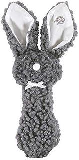 Santa Barbara Design Studio Woolly Bunnie Post Rattle - Gray (Pack of 2)